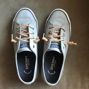 EUC sperry slide on tennis shoes 7.5
